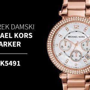 Michael Kors Mid-Size Parker Chronograph Glitz MK5